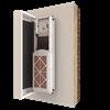 Heat exchanger; HRV; Heat recovery; ventilation; passive house; MVHR