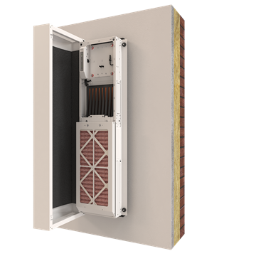 Heat exchanger; HRV; Heat recovery; ventilation; passive house; MVHR